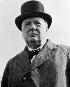 Winston Churchill addiction