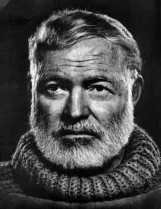 Ernest Hemingway addiction