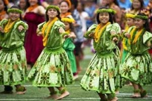 Hula show in Hawaii