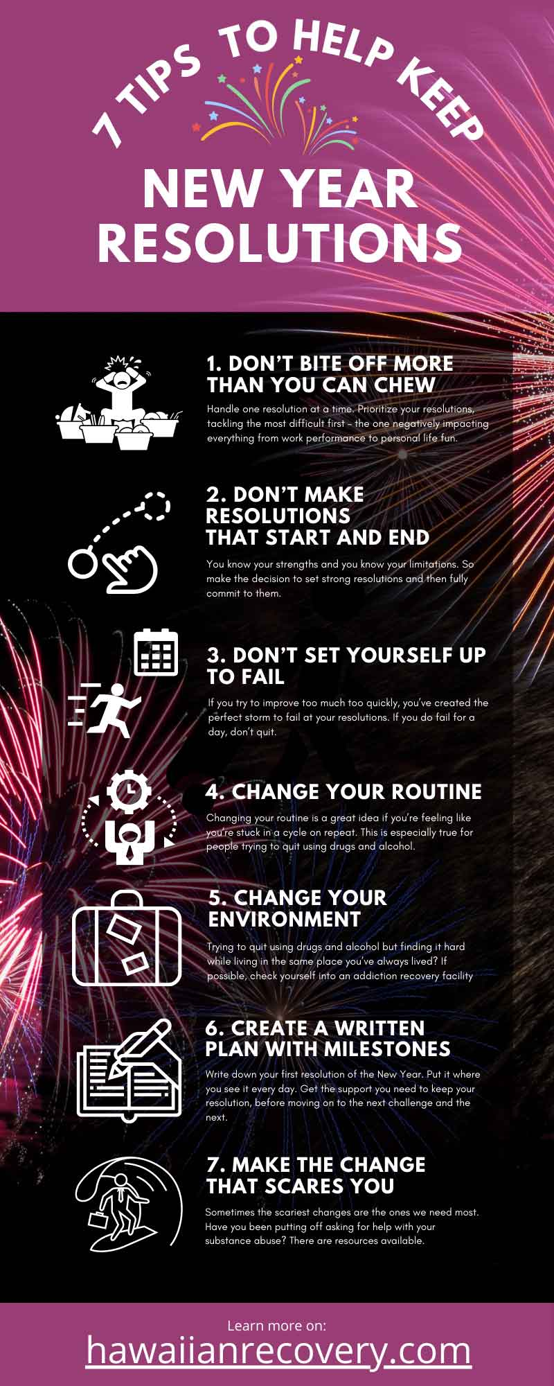 TIPS TO HELP KEEP NEW YEAR RESOLUTIONS FOR 2021