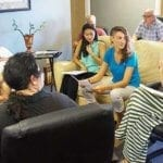 Therapist Zahava Zaidoff teaching non-violent Communication