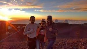 Mauna Kea sunset Hawaii Island Recovery