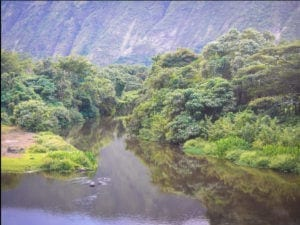 North Kohala river Hawaii