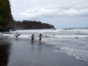 North Kohala surfing