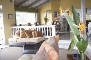 Living room in housing