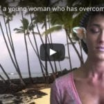 Young woman who has overcome drug addiction