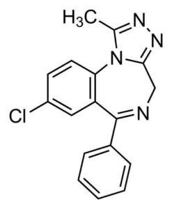 Chemistry of Xanax
