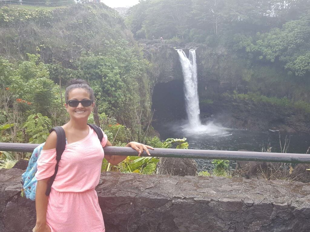 Saturday excursion to Akaka and rainbow falls