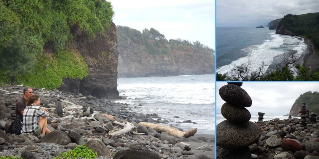 News: Clients went for a hike in Pololu Valley