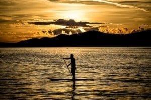 Paddle Boarding   Hawaii Island Recovery