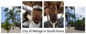 City of Refuge in South Kona