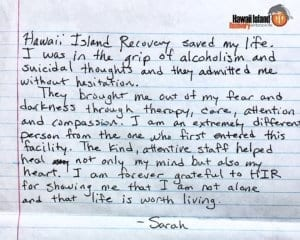 I was in the grip of alcoholism and suicidal thoughts | testimonial