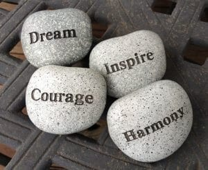 Dream - inspire - courage and harmony