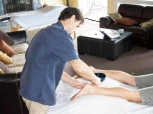 Accupuncture with Daniel at Hawaii Island Recovery
