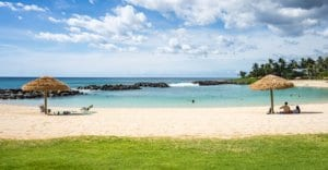 Beautiful Hawaiian beach