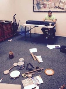 Music therapy at Hawaii Island Recovery
