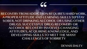 Recovery from addiction