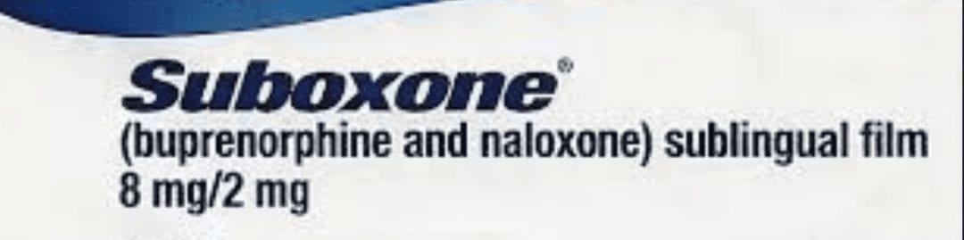 Suboxone pills