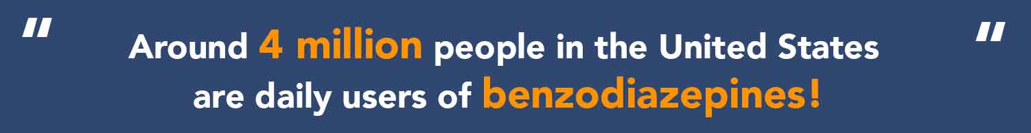 Using benzodiazepines in USA