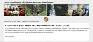Medically supervised detox
