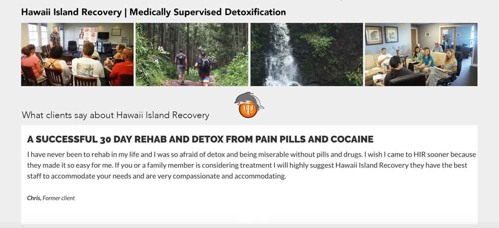 Medically supervised detox