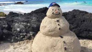 Sandman in Hawaii