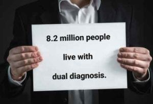 Millions of people live with dual diagnosis