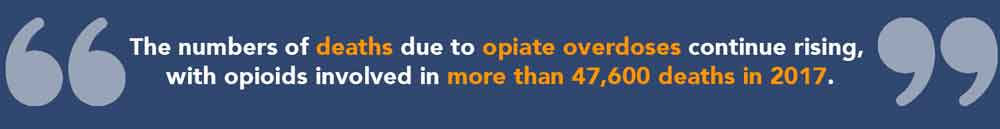The Number of Opiate Overdose
