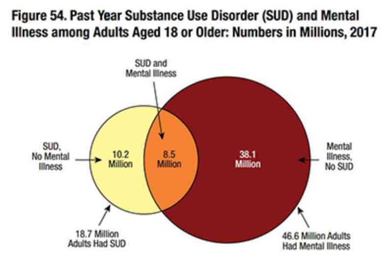 Mental health disorder statistic