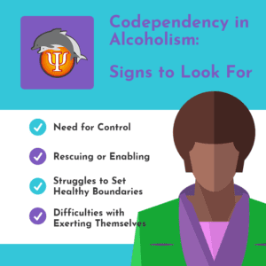 Signs of codependency in alcoholism