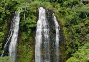 Opaekaa Falls in Hawaii