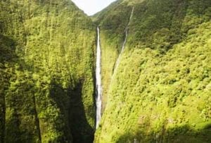 Papalaua falls in Hawaii