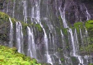 Waialeale Falls in Hawaii