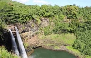 Wailua Falls in Hawaii
