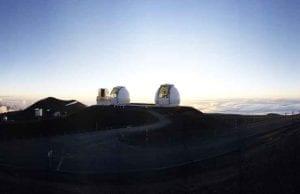 sunrise in Mauna Kea