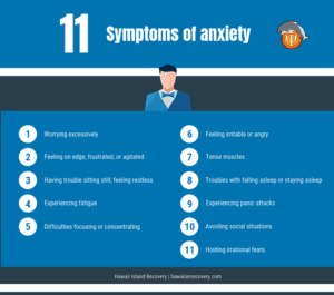 11 Symptoms of Anxiety