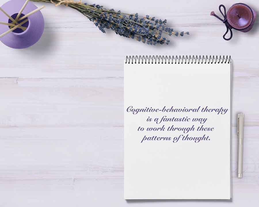CBT therapy is a fantastic way