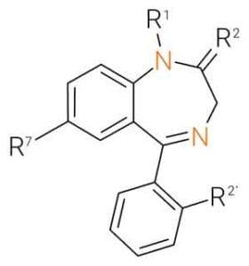 Chemistry of benzodiazepine