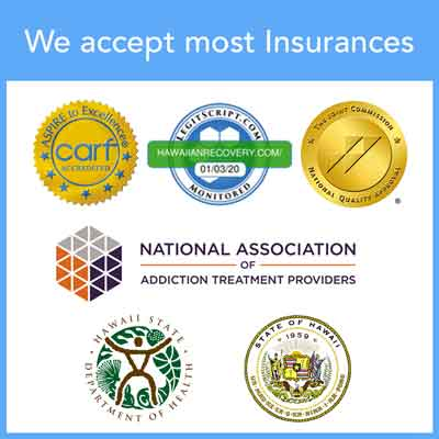 We accept most insurances
