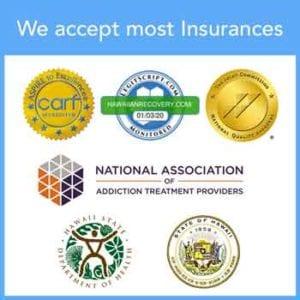 We accept most insurances